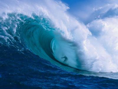 National Geographic,Surfer,Hawaii Photograph by Ron Dahlquist